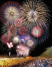 【2020年開催なし】川北まつり北國大花火川北大会