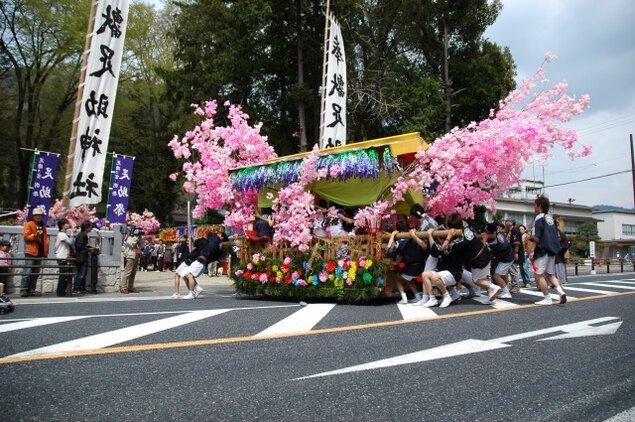 足助春まつり(足助神社例祭・重範祭)