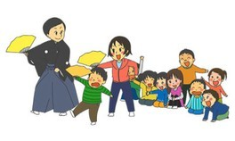 親子で楽しむ能楽(のうがく)体験