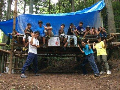 子どもワイルドキャンプ