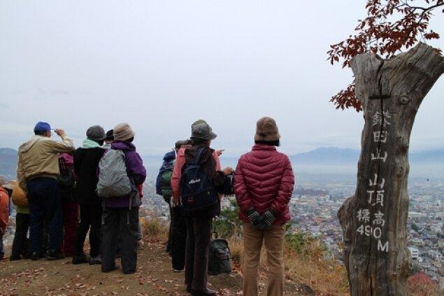 信州 須坂 春の里山ハイキング