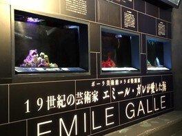 魚類・海藻類の特別展「19世紀の芸術家 エミール・ガレ が愛した海」