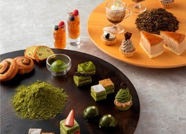福寿園×帝国ホテル 夏のスイーツブフェ ~抹茶とほうじ茶の薫香~