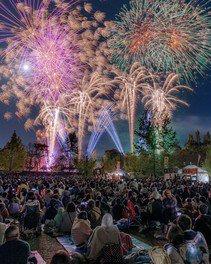 ドイツの森 花火大会
