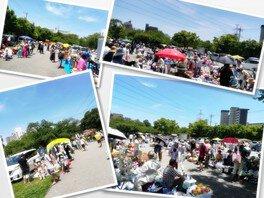 西葛西「新田6号公園」フリーマーケット(7月)