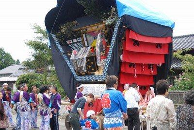 白丸曳山祭り