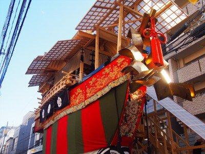 ガイド散策 祇園祭~個性的な「後祭」の山鉾を歩く!~