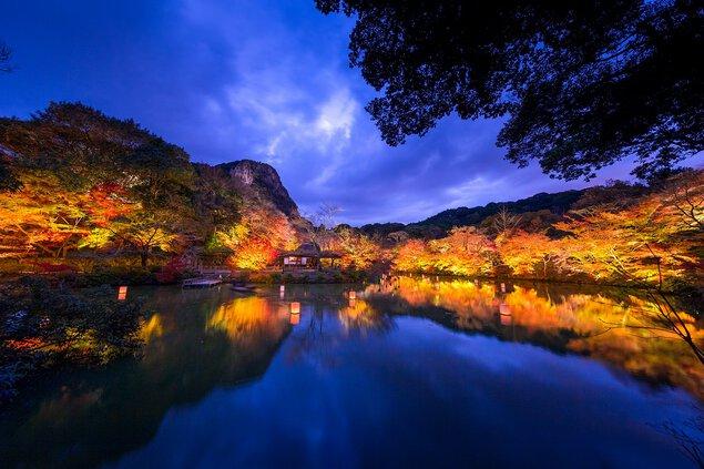 御船山楽園の紅葉