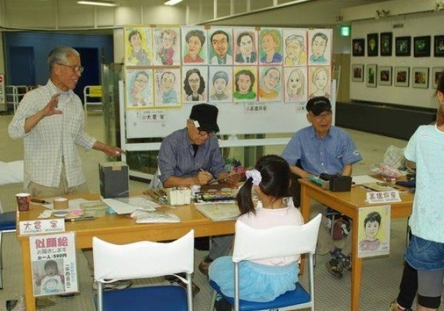 千葉ポートタワー 似顔絵体験(5月)