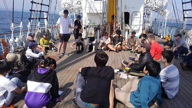 帆船みらいへ(広島~神戸)ISPAヤングマリナープログラム