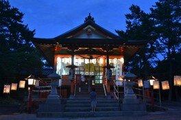 月読神社六月灯