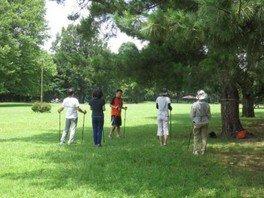 野川公園 はじめてのノルディックウォーキング教室
