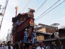 ガイド散策 後祭・山鉾巡行の朝!最高に美しい山鉾と新町通の巡行へ
