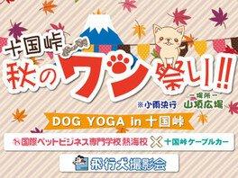 十国峠 秋のワン祭り!!