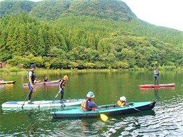 SUP&カヤック体験 碓氷 軽井沢 アウトドア自然体験