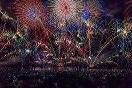 【2020年開催なし】第70回とうろう流しと大花火大会