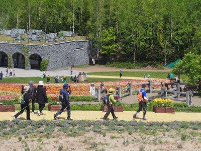 ノルディックウォーキング滝野ショートコースツアー