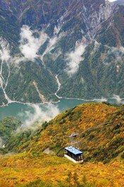 立山(黒部ダム:標高1470m付近)の紅葉