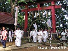 氷川女體神社の名越の大祓いツアー