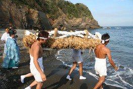波切神社わらじ祭り
