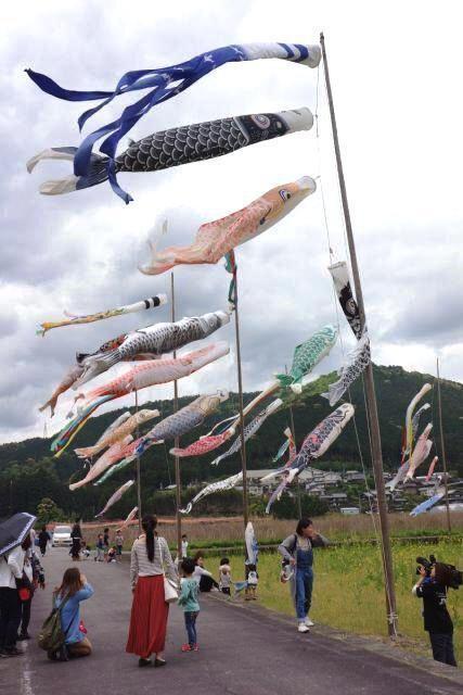 鯉のぼり祭り 熊野川地域物産展