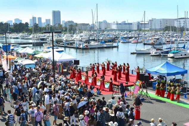 第7回 東京夢の島マリーナ ハワイ&タヒチ フェスティバル