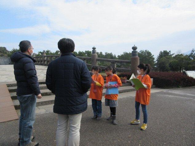石橋記念公園「子どもガイド案内」(4月)<中止となりました>