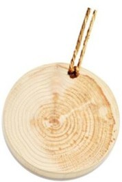 木のペンダント作り