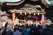 二宮神社 節分祭