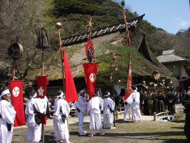 能生白山神社春季大祭