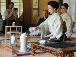 依水園開園記念イベント「文人趣味の煎茶席」