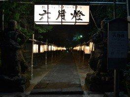 感応寺 六月灯