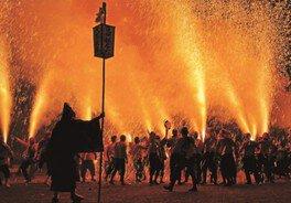 新居諏訪神社奉納煙火祭礼<中止となりました>