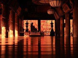 奈良 長谷寺の紅葉