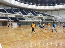 総合運動公園 はじめようフットサル(5月)