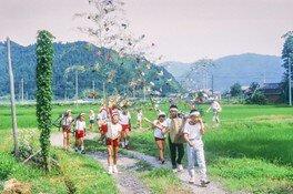 エントランス展示「祭り・行事と子供たち~嶺南の祭り・年中行事写真から~」