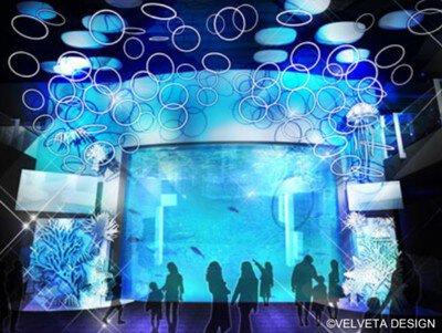 ヒカリノエノスイ ~美しい水族館~ えのすいワンダーアクアリウム2019