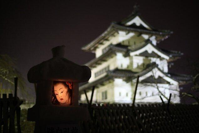 弘前城 雪燈籠まつり
