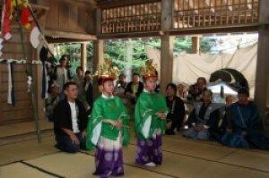 上阿田木神社例大祭