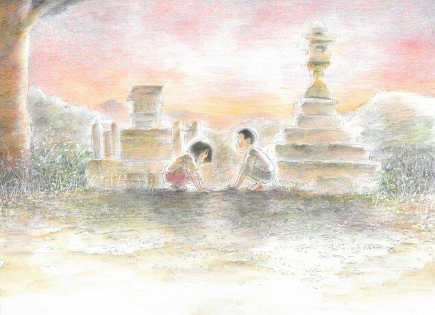 三浦よし木 漫画「花をうめる」原画展 -作品に描かれた「遊び」と「恋」-