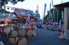 箱崎八幡神社六月灯