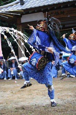 月田近戸神社例大祭(月田のささら)