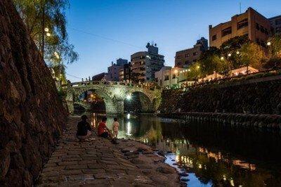 中島川夏風情~長崎夜市