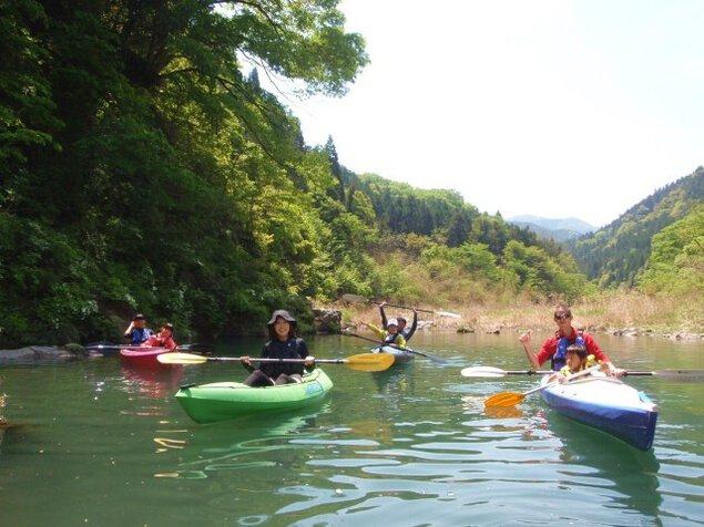 「季節の穴場カヤック体験」 長瀞近郊 アウトドア自然体験