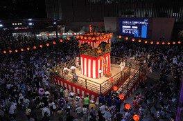 六本木ヒルズ盆踊り2019