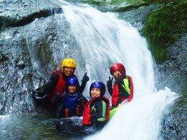 シャワークライミング「麗しの渓谷!ウォーターキャニオン」長瀞近郊 アウトドア自然体験