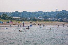 【海水浴】大貫中央海水浴場