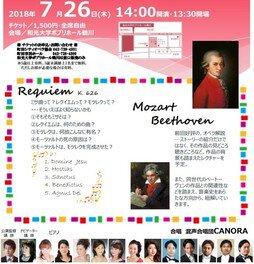 町田シティオペラ協会レクチャーコンサート  モーツァルトの作品を知ろう!