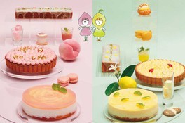 Sweets Buffet Peach & Lemon Sisters