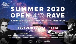 COT presents SUMMER 2020 OPEN AIR RAVE